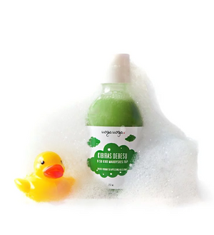 Uoga Uoga, Natural Baby & Kids Bath Form with Olive & Orange Oil