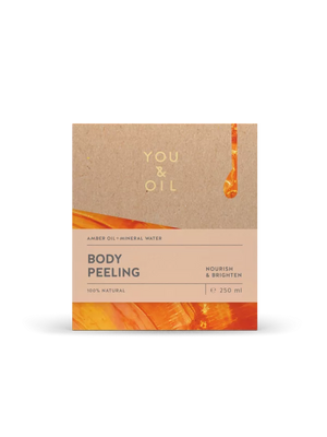 You and Oil, Body Peeling with Amber Oil