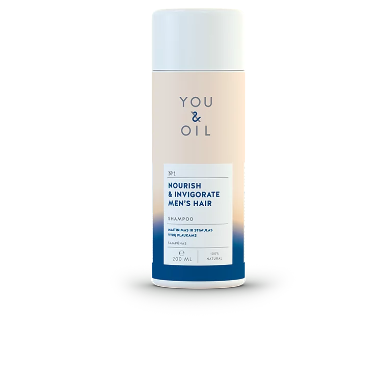 You and Oil, Nourish & Invigorate Men's Shampoo