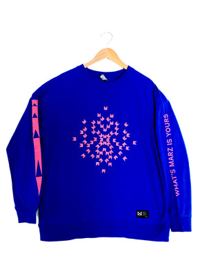 What's Marz Is Yours Blue Longsleeve