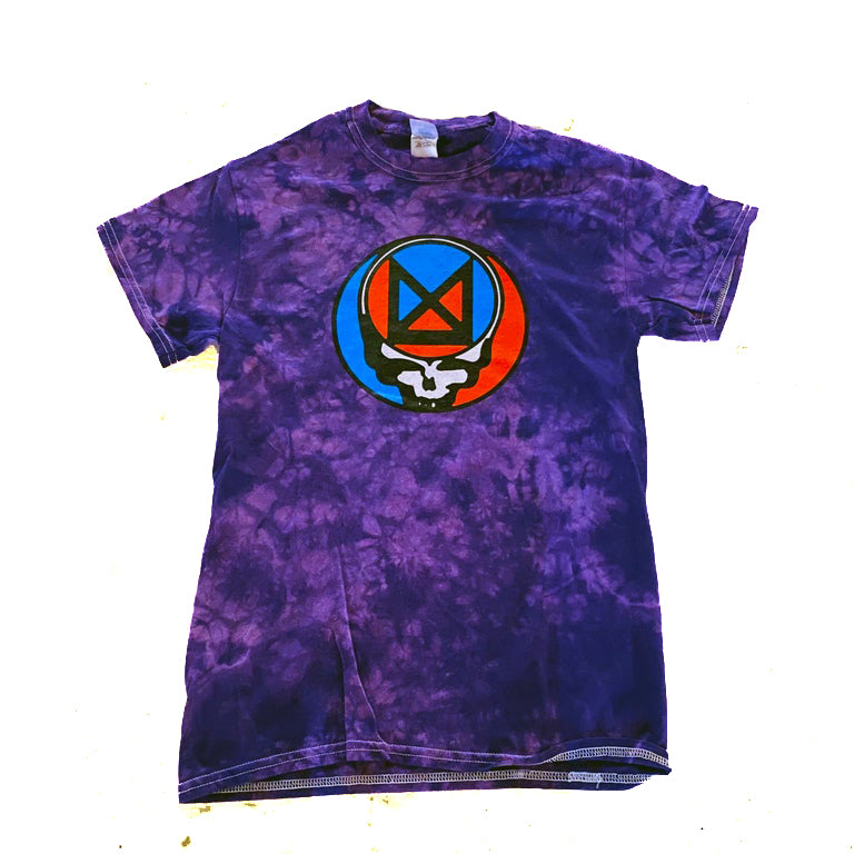 Marz Your Face Tie-Dye Crystal Wash T-Shirt