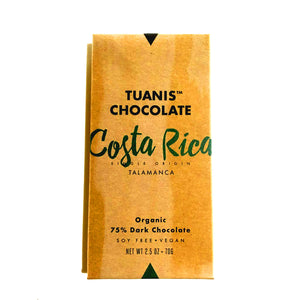 Tuanis Costa Rican 75% Dark Chocolate