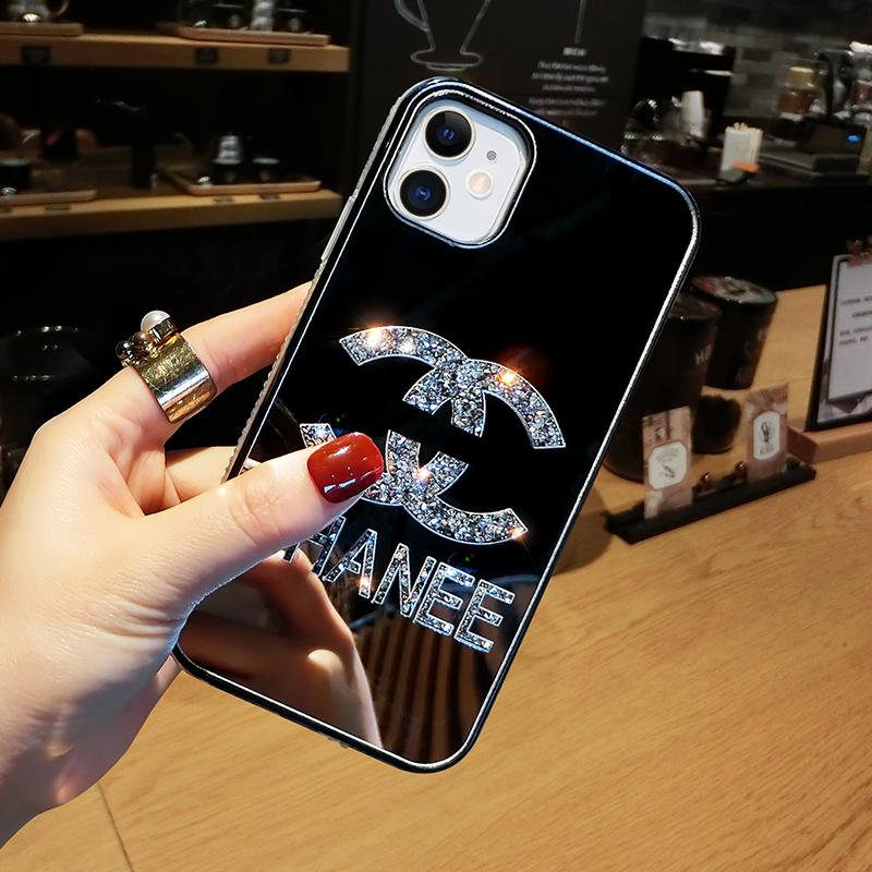 Personalized mirror phone case