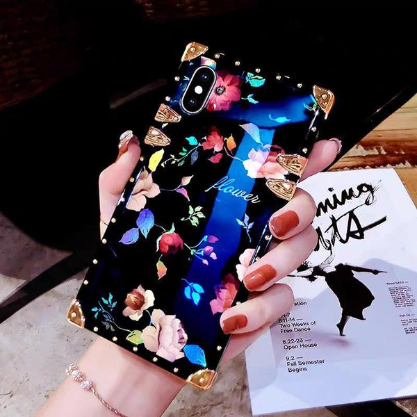 New rose top grade mobile phone case