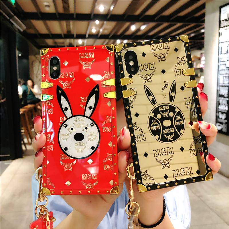 Retro Style Trendy Rabbit Phone Case