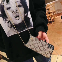New Fashion Diagonal Lanyard Phone Case