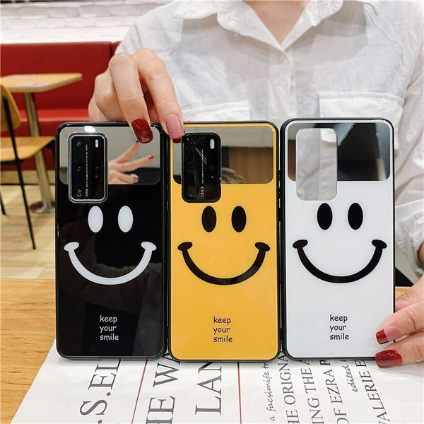 Smiley Mirror Case