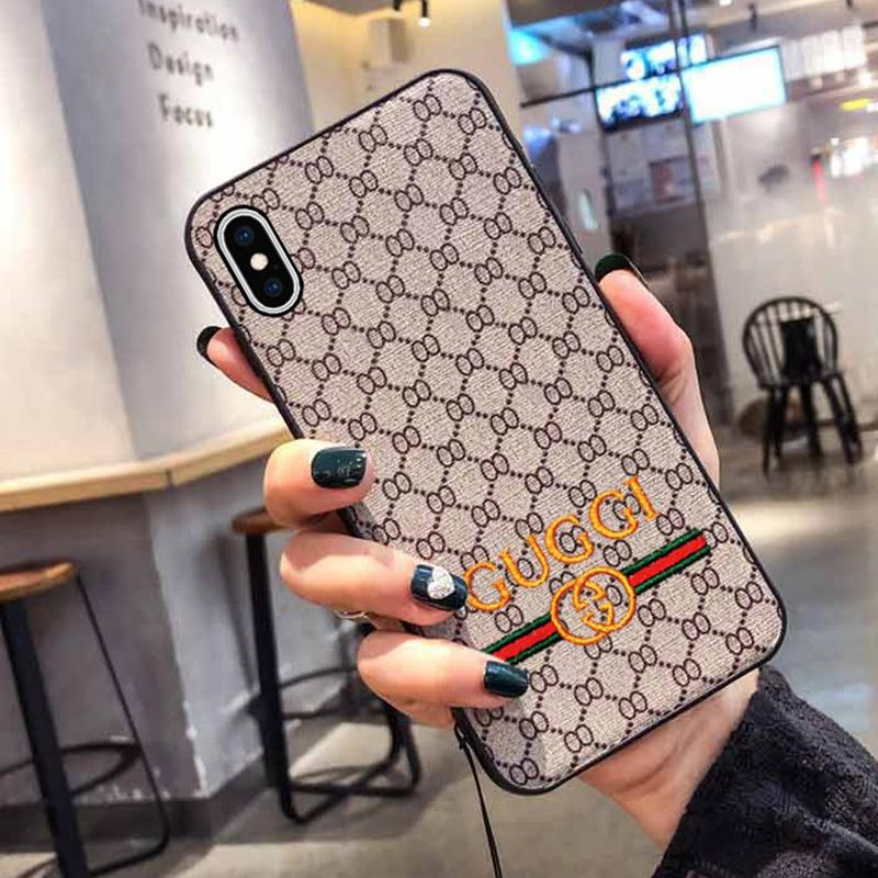 Fashion Embroidery Soft Silicone Phone Case