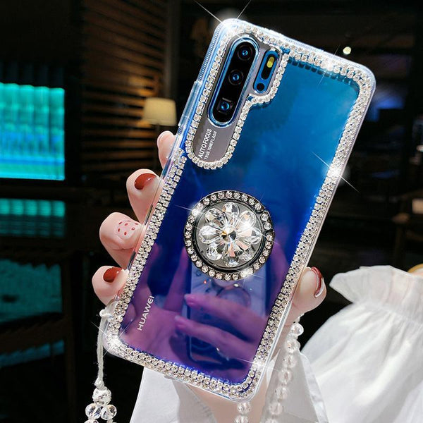 Rhinestone Bracket Case