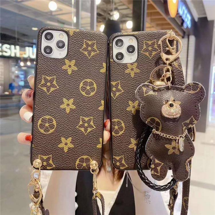 High-end Leather Printed Phone Case