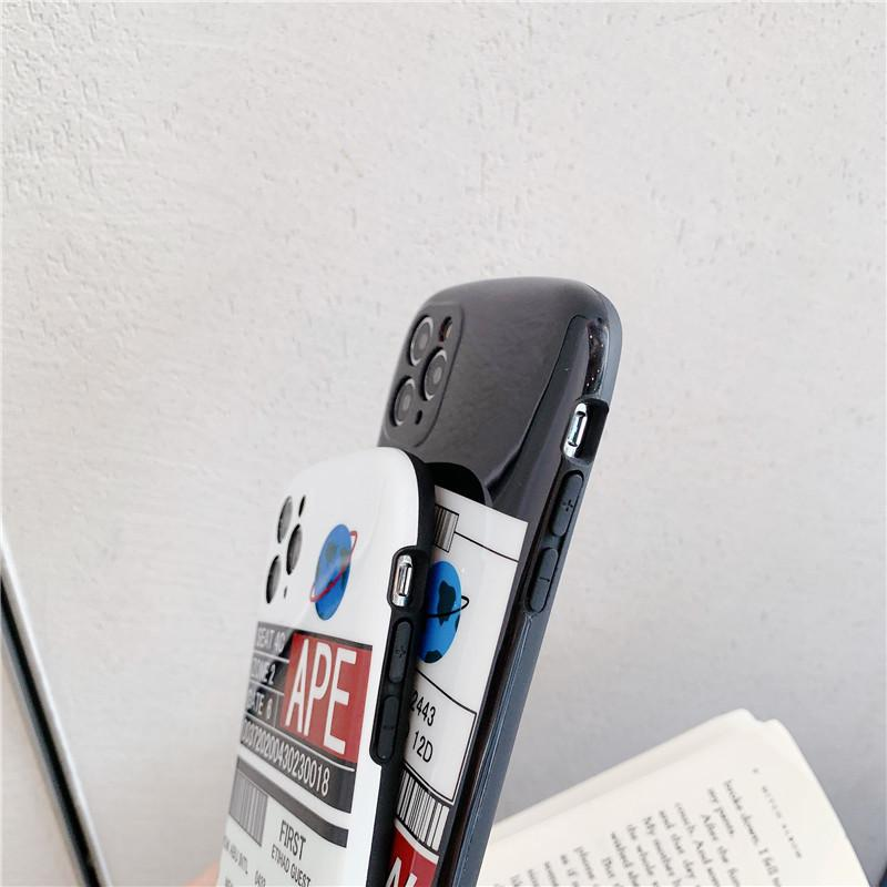 Creative Cartoon Glossy Phone Case