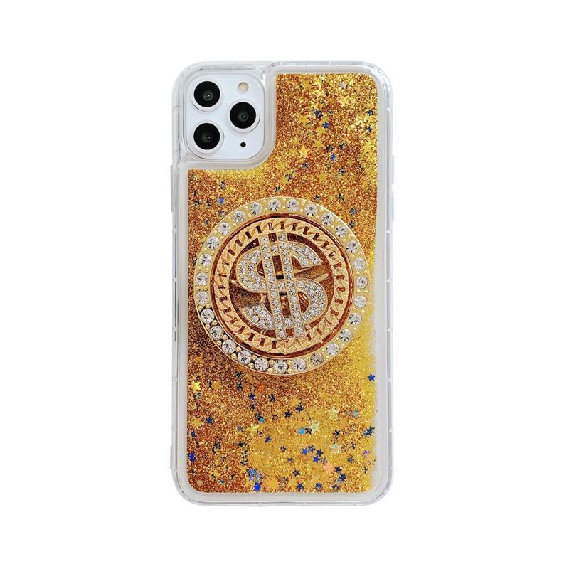 Spin Gold Coin Quicksand Case - jvcases