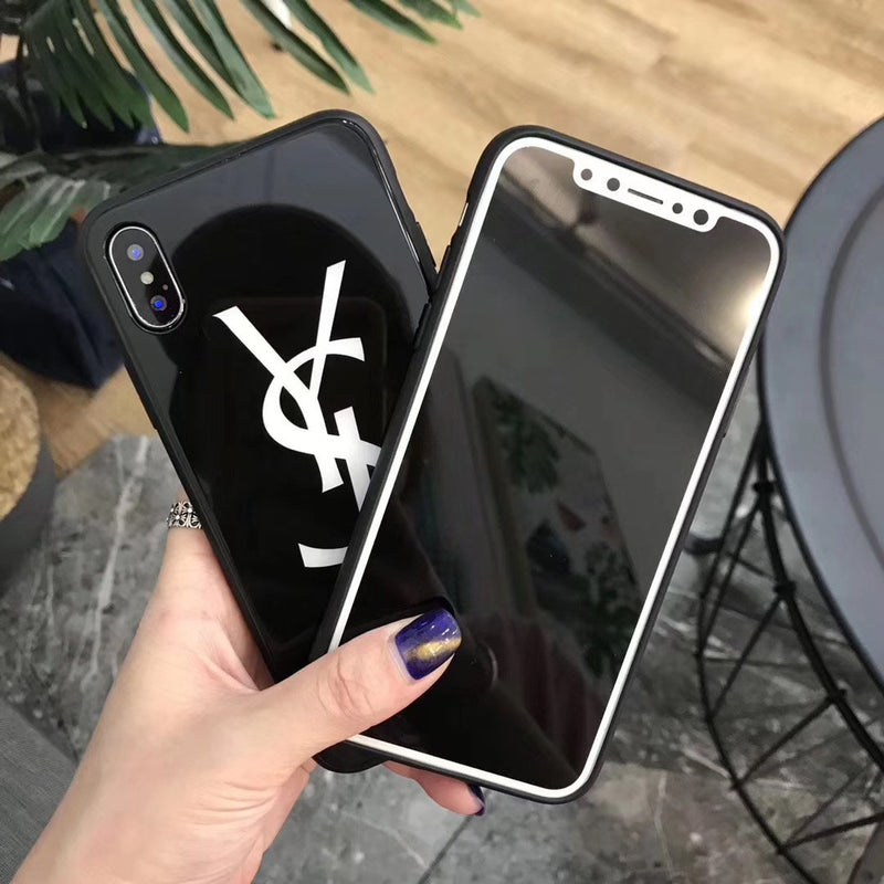 Fashion YSL Soft Silicone Phone Case