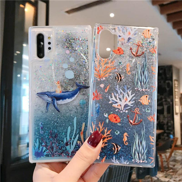 Dolphin Quicksand Case