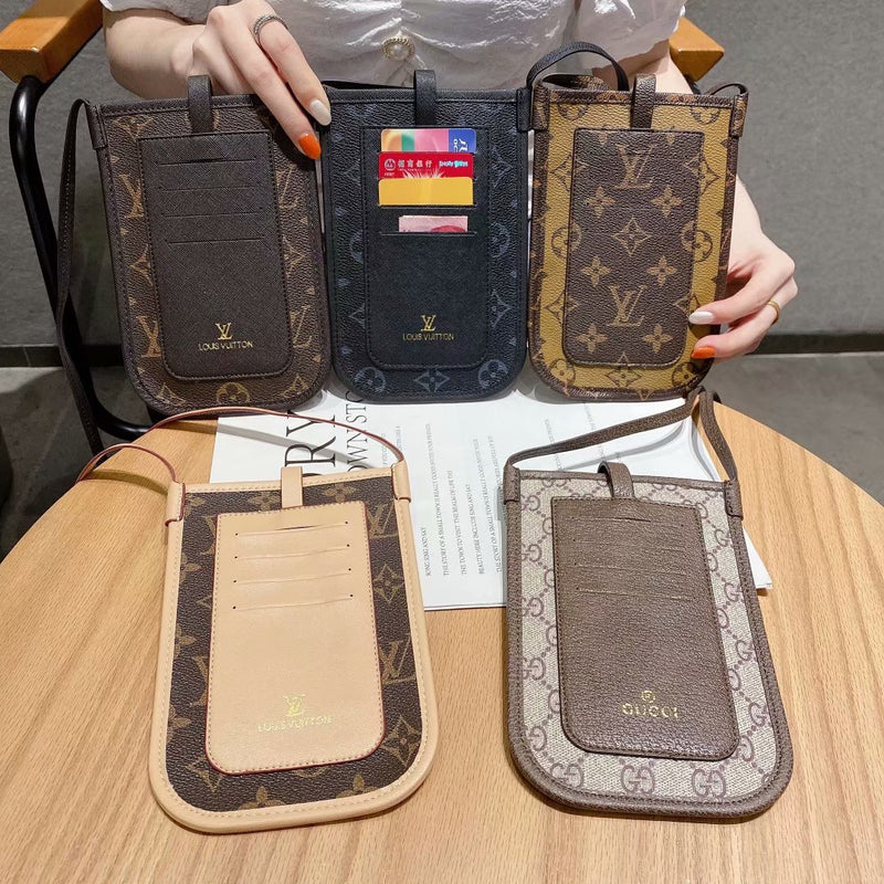Large Capacity Shoulder Bag Phone Case Card Case