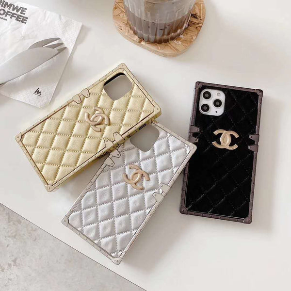 Luxury Cortex Checkered Phone Case