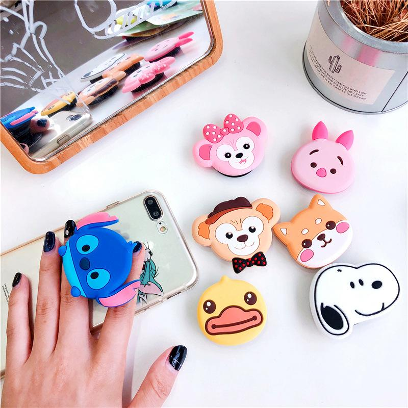 Cartoon Gasbag Holder Finger Ring Bracket