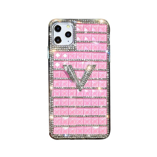 Diamond Letter Case - jvcases