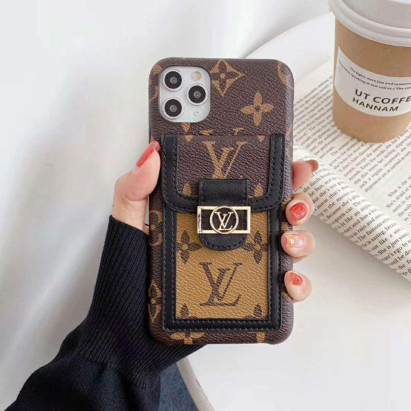 Luxury Leather Phone Case Card Case