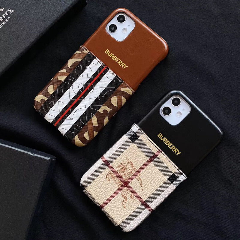 Retro Color Phone Case Card Case