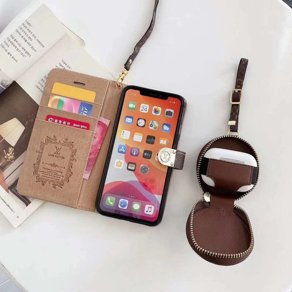 Samsung Genuine Leather Multifunctional Phone Case Wallet Case