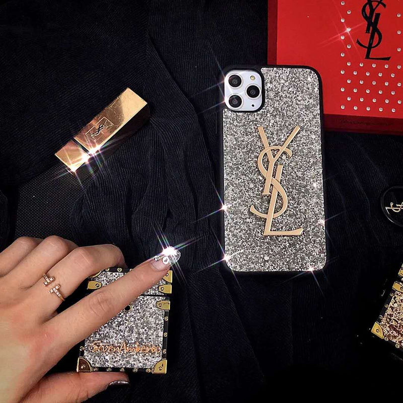Fashion Frosted Flash Phone Case + Airpods Box
