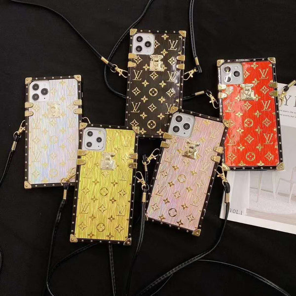 New Fashion LV Phone Case + Earphone Box