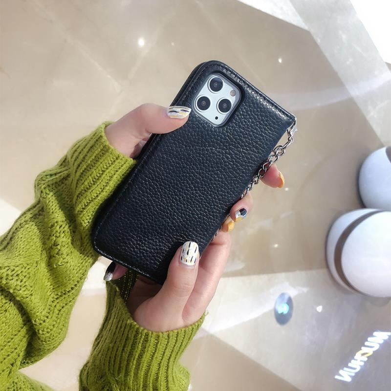 LOVELY WITH HAND CHAIN PHONE CASE