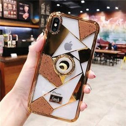 High Quality Ring Phone Case For iPhone