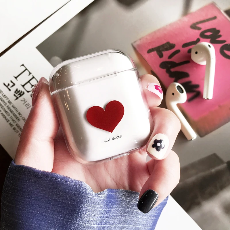 Simple Heart AirPods Case