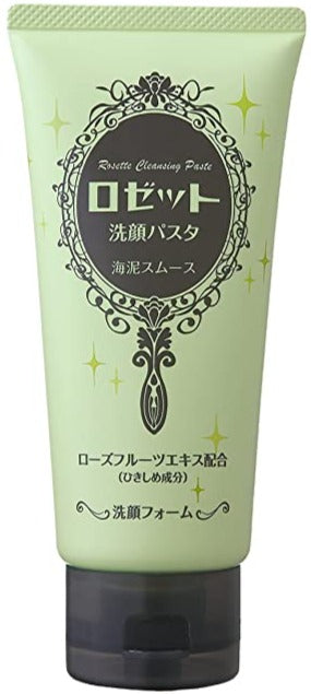 ROSETTE Face Cleansing Paste Sea Clay Smooth 120g