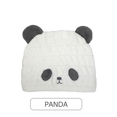 CARARI Water Absorption Kids Cap Panda 1pc