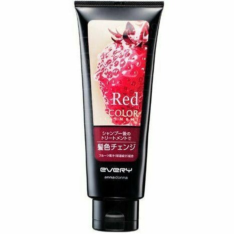 ANNA DONNA Every Hair Color Treatment Red 160g