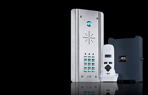 KABELREICHWEITE intercom AES Global wired access control devices