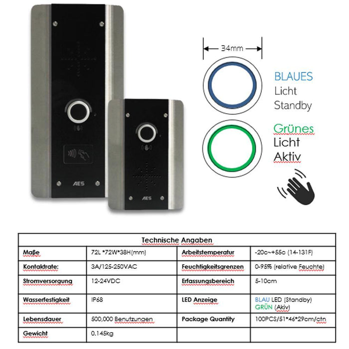 AES 603 AB Wireless Intercom System (Architectural Callpoint) - AES Global
