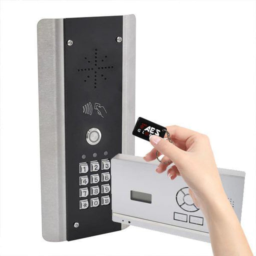 AES 603 DECT Wireless Intercom System (Architectural Keypad Callpoint with Prox) Handsfree Wall/Desk Mount Audio Handset - AES Global