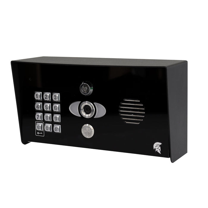 Praetorian Guard PED-KP IP-Video-Intercom-System (Pedestal Imperial mit Tastatur)