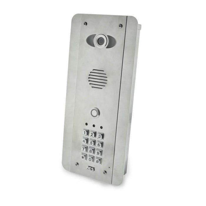 Pred2-Wifi-FSK - Flush the WiFi intercom (completely made of stainless steel) with keyboard - New Wifi Predator Mark 2 - AES Global