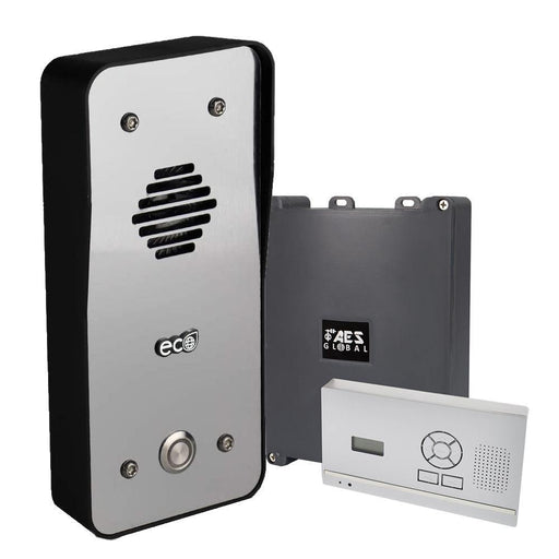 AES 603 DECT ECO Steel Effect Callpoint Access Control System - AES Global