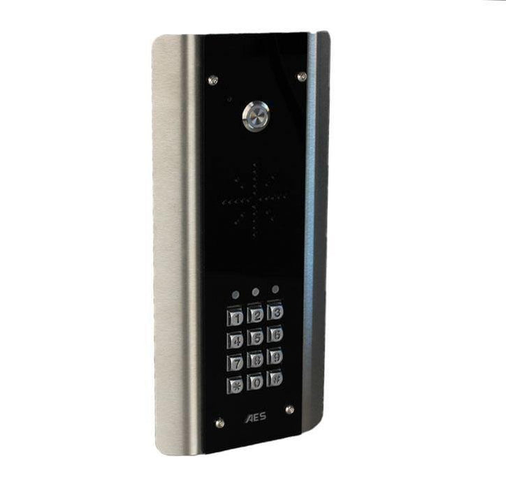 Prime6-ABK 4G Wireless Intercom System Imperial Socket (Black & Stainless Steel) Kit with Keyboard. - AES Global
