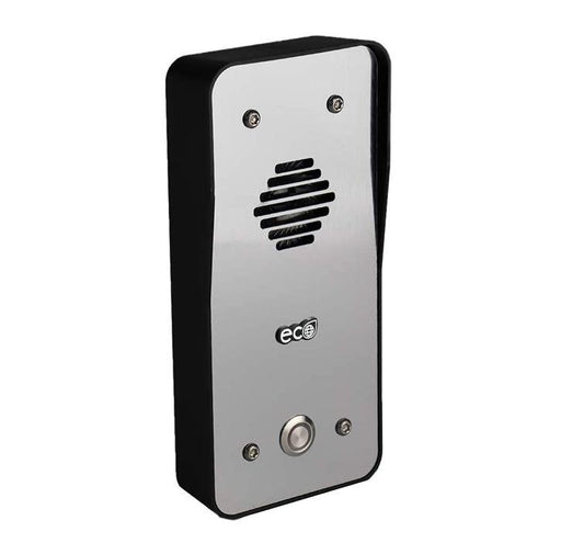 AES ECO GSM 4G intercom with steel effect. (including Vodaphon SIM) - AES Global
