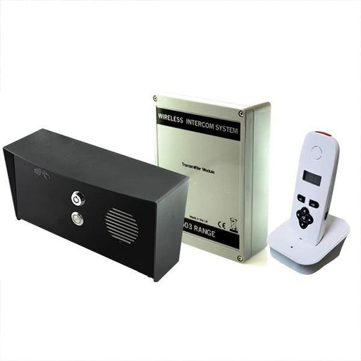 AES 603 DECT wireless intercom system Imperial socket (all black) kit - AES Global