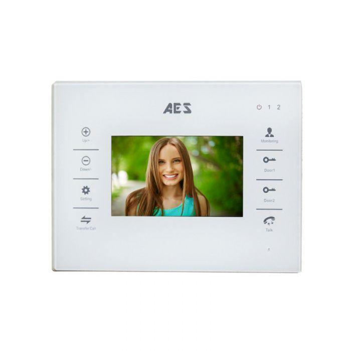 AES Stylus ABK architectural video intercom with keyboard and monitor. - AES Global