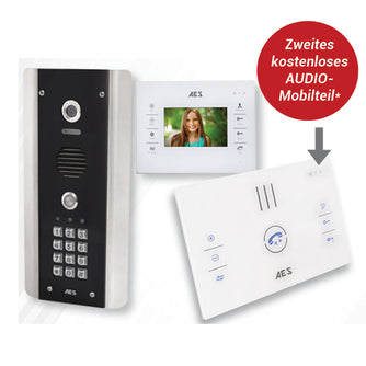 AES STYLUS-4.3 | Hands-free video monitor for StylusCom Smart Intercom - AES Global