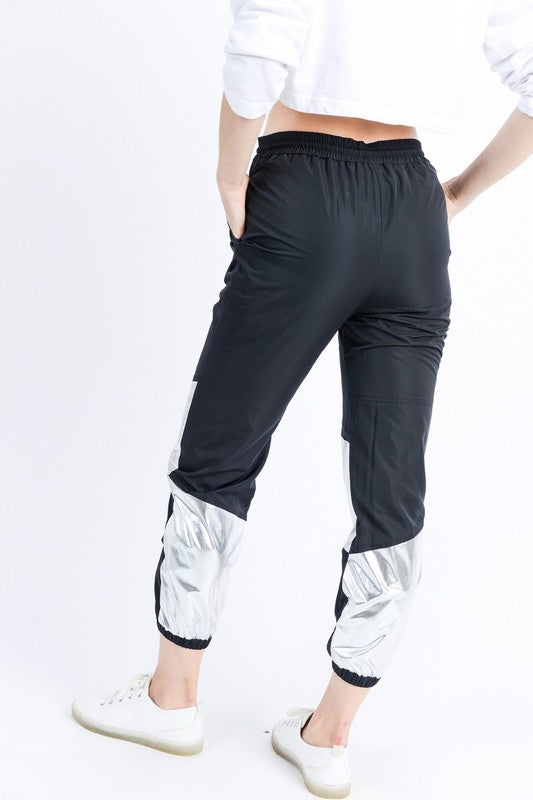 Jessa Black Track Pants