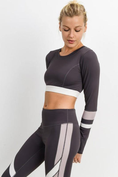 Higher Level Sports Crop Top
