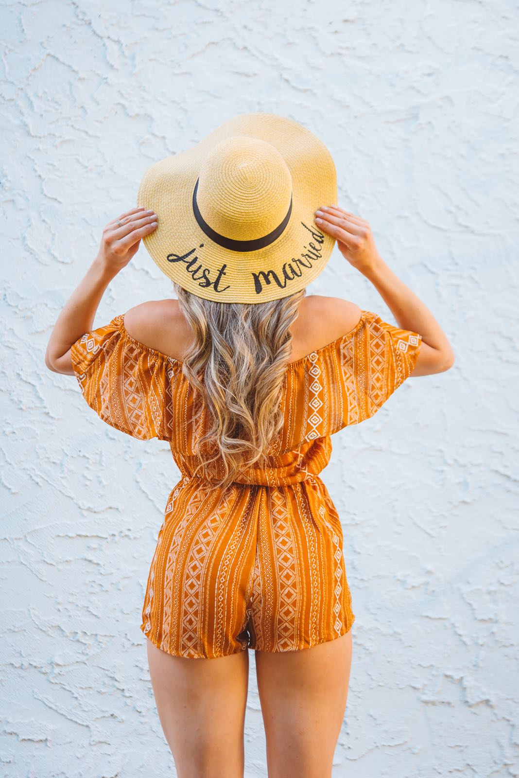 Message Straw Floppy Hat