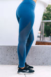 Feli Aquamarine Athletic Leggings