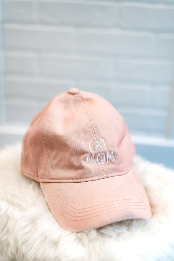 Cat Mom Dad Hat