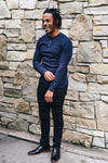 Navy Thermal Henley